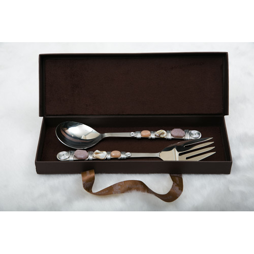 Filigree 2 Piece Salad Servers Set