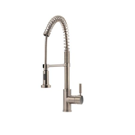 Hahn Commercial Stainless-steel Pre-rinse Kitchen Faucet - Walmart.com
