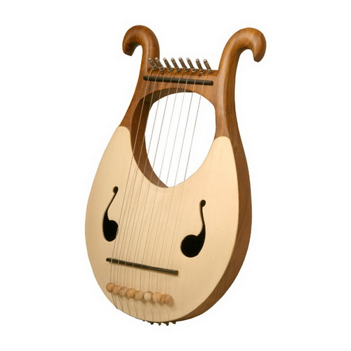 Mid-East Lyre Harp, 8 String