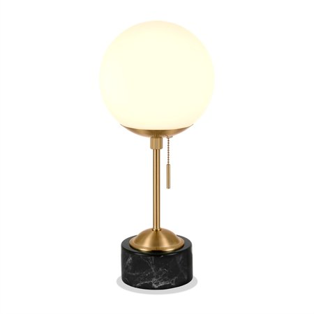 Art Deco Marble Table Lamp - image 3 of 10