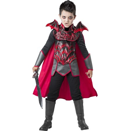 Vampire Knight Boys Child Dead Soldier Warrior Halloween Costume