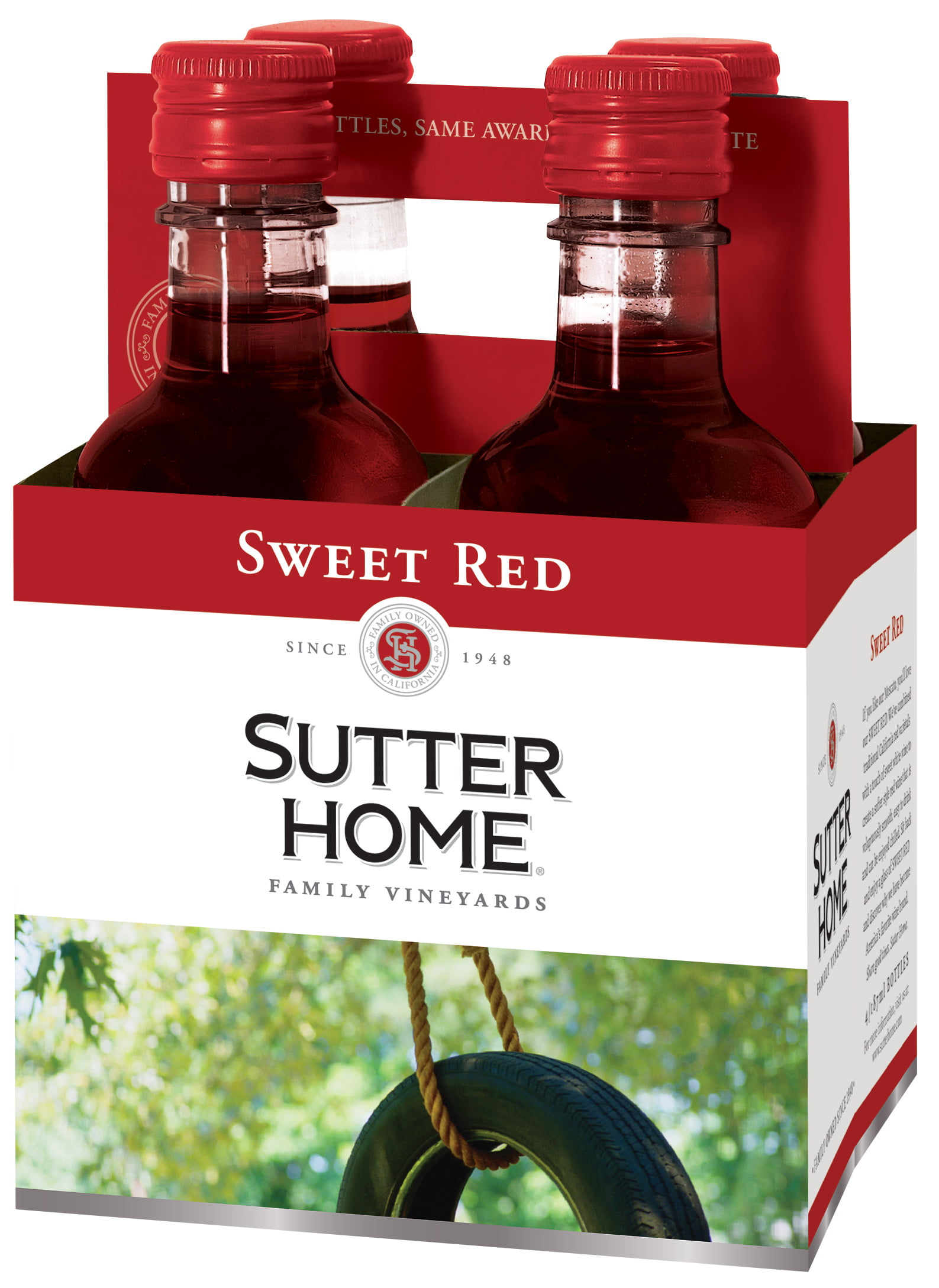 Sutter Home Sweet Red Nutrition Nutritionwalls