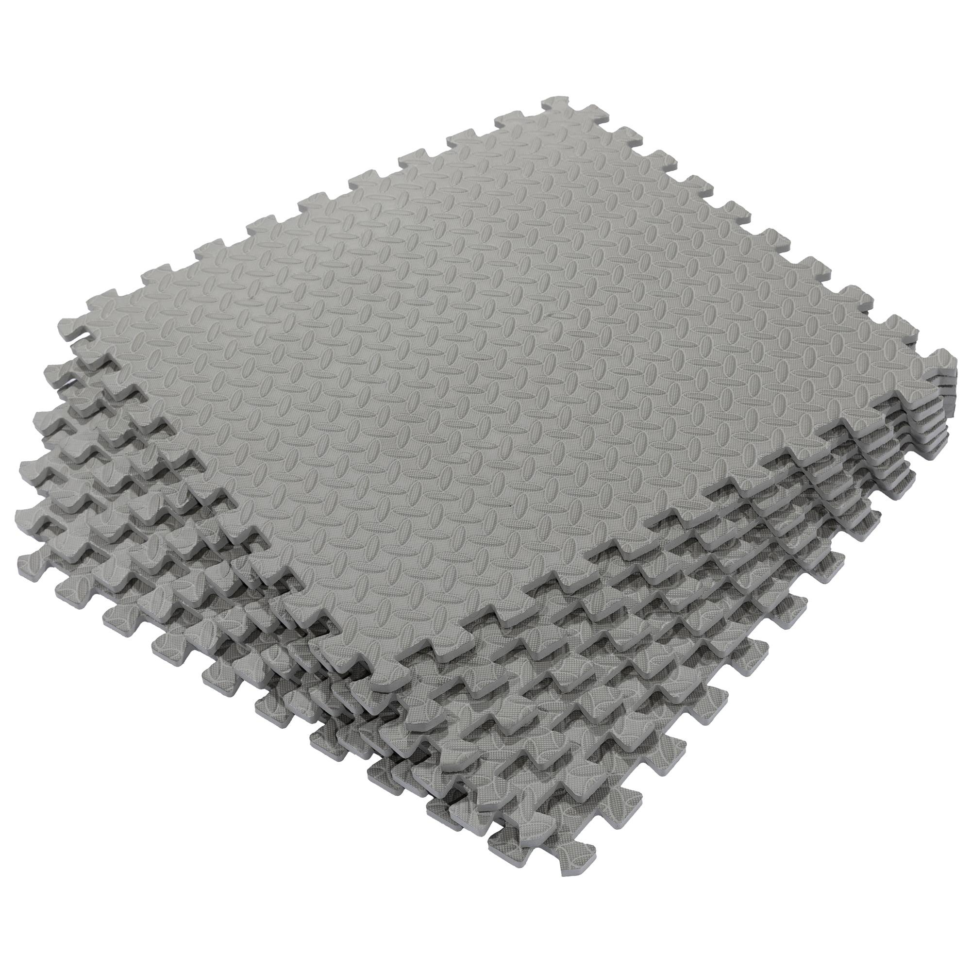 Anti-Fatigue Protective Flooring Mats Tiles Showroom Workshop Shop LIGHT GREY