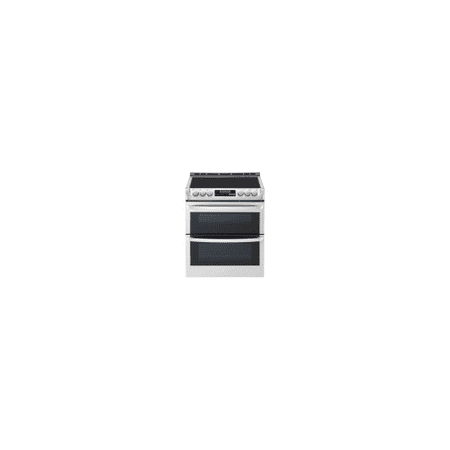 LG LTE4815ST 7.3 cu.ft. Electric Double Slide-in Range, Probake, Self+EasyClean, Stainless Steel