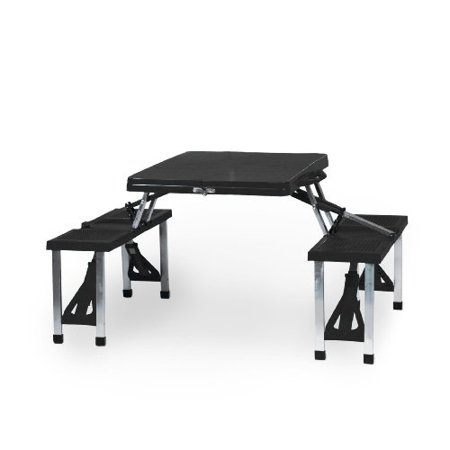 Picnic Table - Black (Clemson U Tigers) Digital Print - image 1 de 1