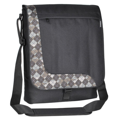 Everest Deluxe 12'' Messenger Bag with 1 Zippered Pocket