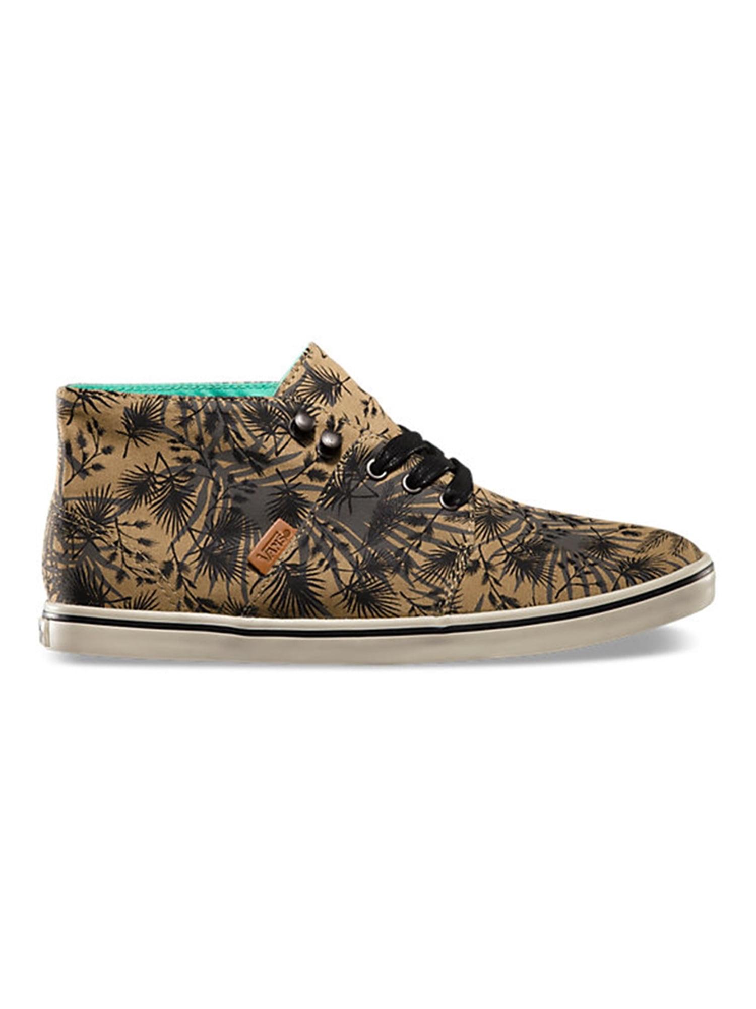 Vans Womens Camryn Slim Palm Camo Sneakers blacktan 5