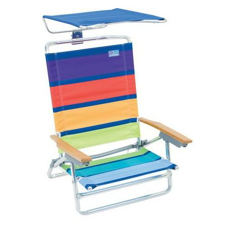 Rio Beach Folding Chair With Canopy Walmart Com