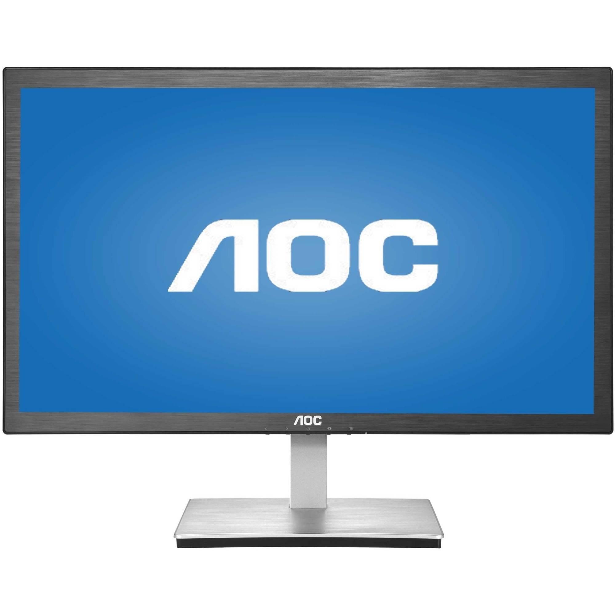 "AOC Monitor 24"" IPS Panel Full HD 1920x1080 5ms VGA HDMI (MHL) I2476VWM"