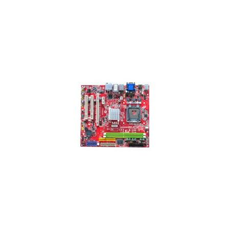 (Refurbished-Microstar / MSI MS-7366 Microstar MSI P6NGM MS-7366 motherboard with on-board 6 channel audio, VGA and DVI, LAN, IDE and SATA, 2 PCI, 1 PCI Express 1x, one 16x. Micro ATX.)