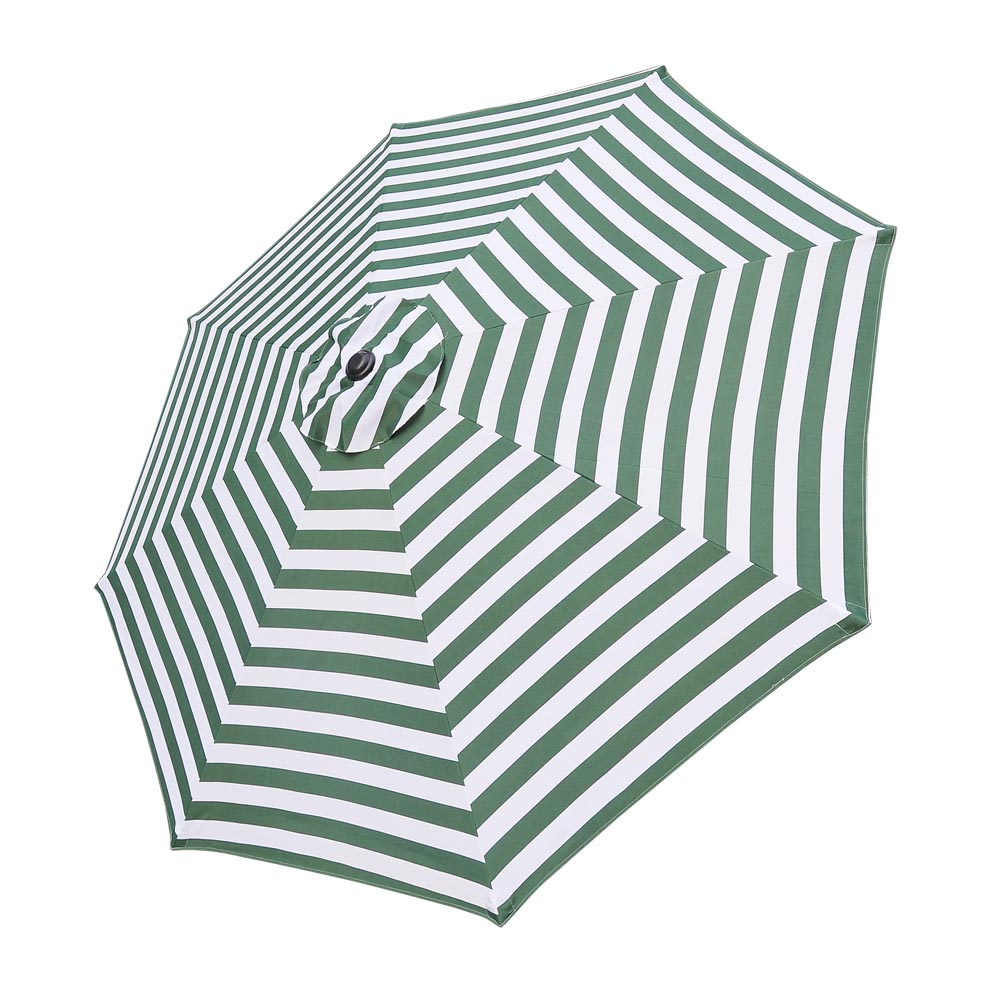 Superbe 9u0027 8 Ribs Umbrella Canopy Replacement Patio Top Cover Market Outdoor Beach  Yard