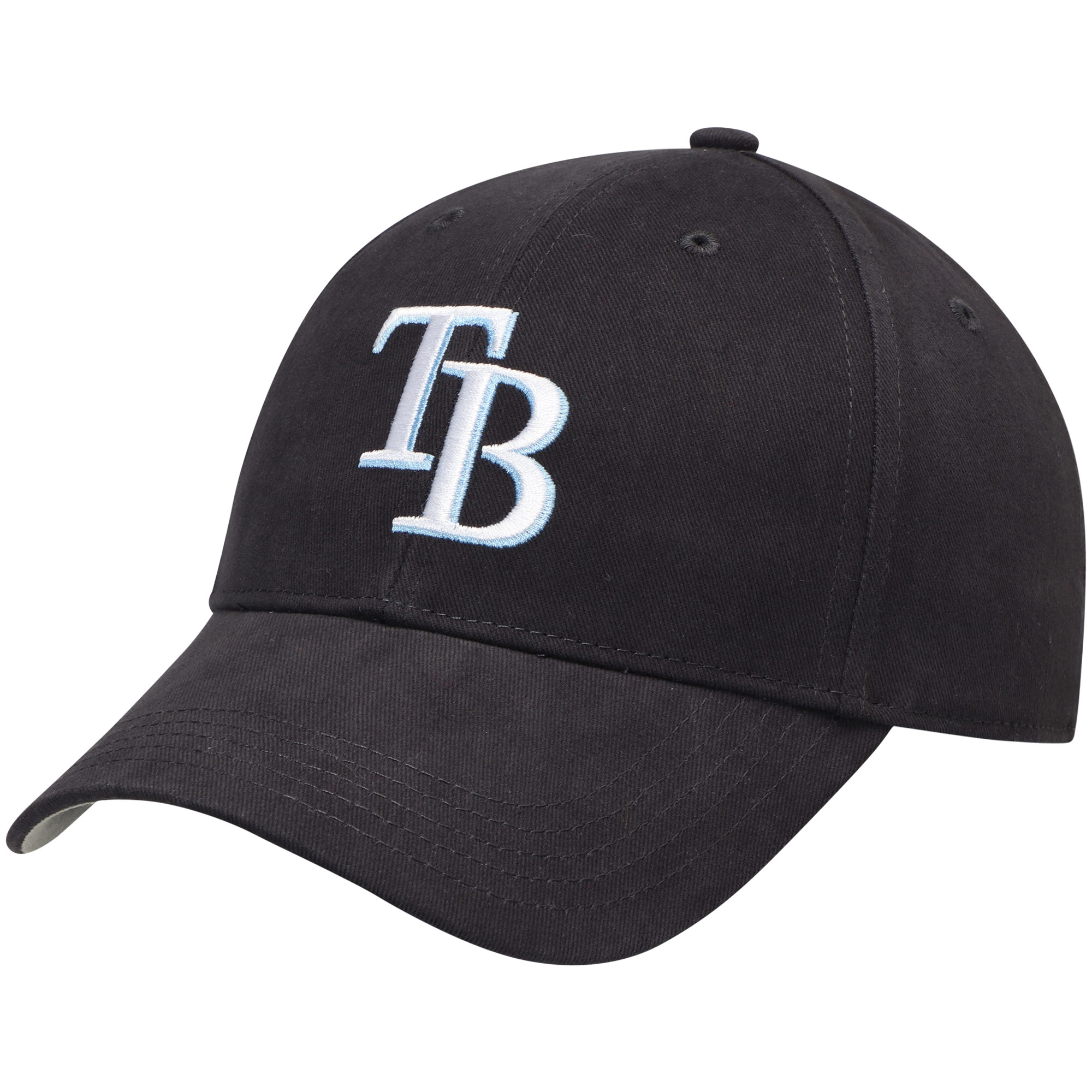 Tampa Bay Rays Fan Favorite Youth Basic Adjustable Hat - Navy - OSFA