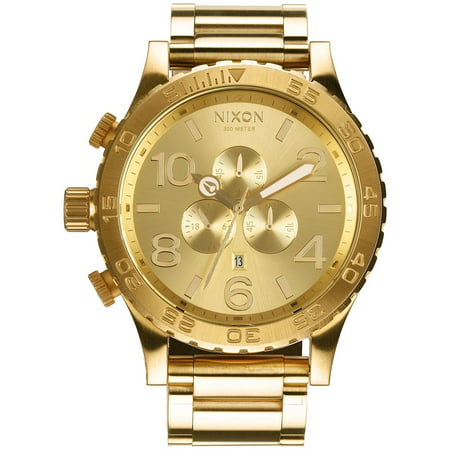 Men's 51-30 Chrono A083502 Gold Stainless-Steel Quartz Fashion Watch