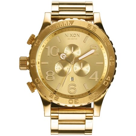 Men's 51-30 Chrono A083502 Gold Stainless-Steel Quartz Fashion - Large Chrono Watch