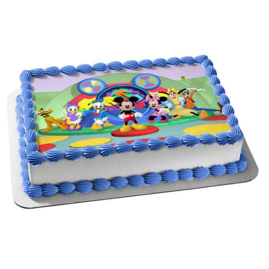 Swell Mickey Mouse Clubhouse Minnie Mouse Goofy Pluto Donald Duck Daisy Personalised Birthday Cards Vishlily Jamesorg