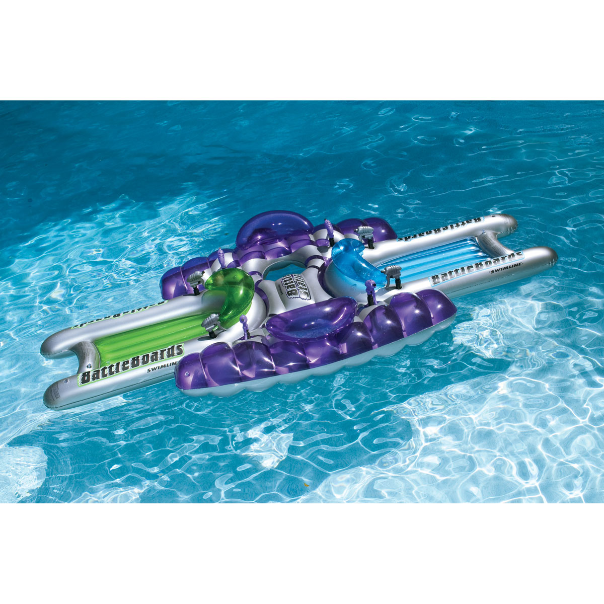Battle Station Squirter Set Inflatable Swimming Pool Toy by Swimline
