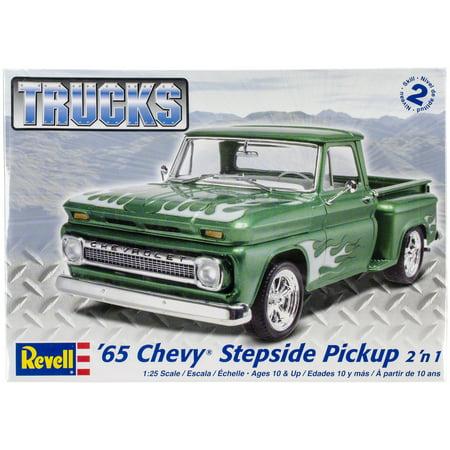 Plastic Model Kit '65 Chevy Stepside Pickup 2-In-1 - Chess Model