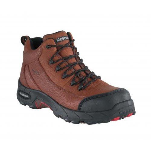 Reebok Work Men's Tiahawk Waterproof Leather, Rubber Sport Hiker Boots
