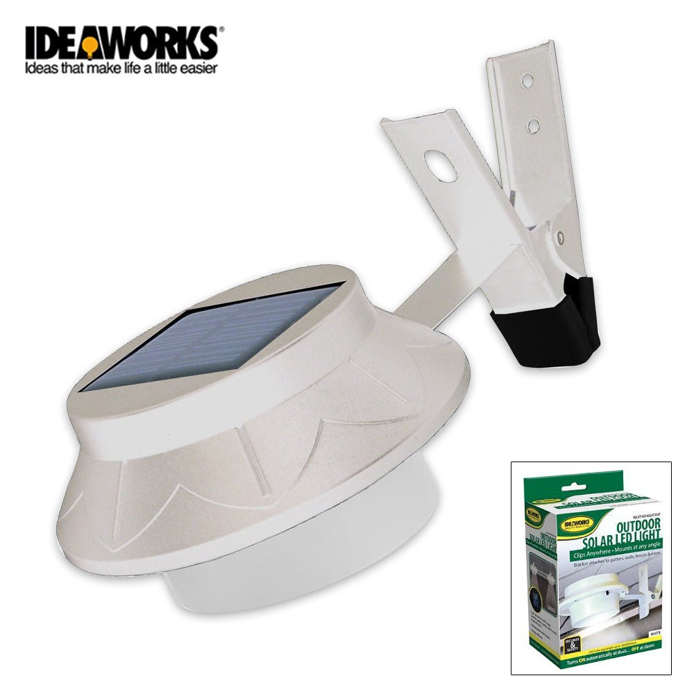 International JB6806 Outdoor Solar Led Light - white, No wires or electricity needed By Jobar From USA