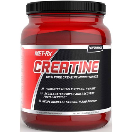 MET-Rx Creatine 100% Pure Creatine Monohydrate Powder, 35.28 oz