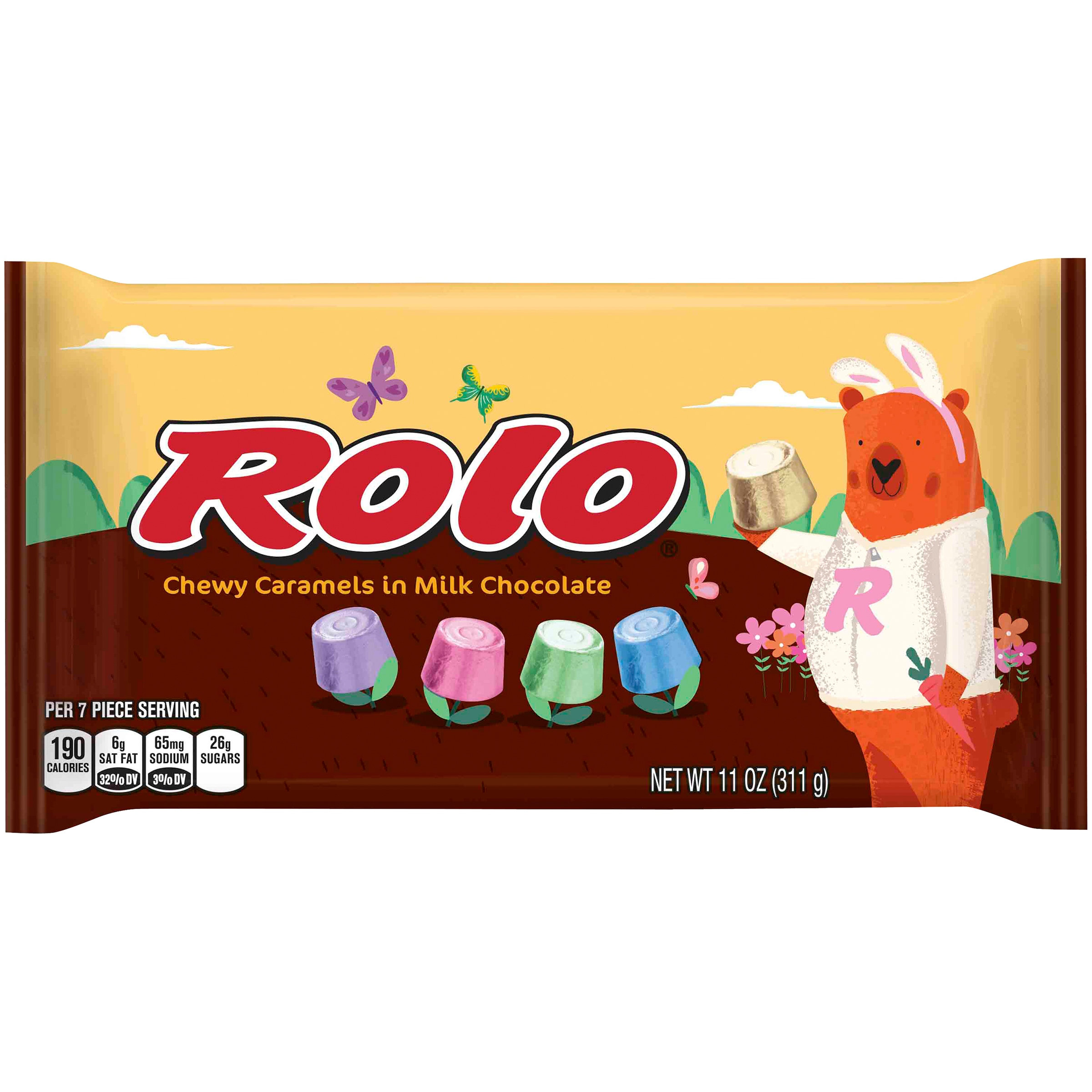 Rolo Easter Chewy Caramels in Milk Chocolate 11 oz. Bag by Hershey's