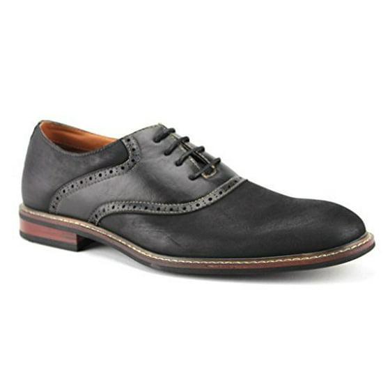 3b4ae4c0de92f Ferro Aldo Men's 19268A Two Tone Saddle Dress Oxfords Shoes