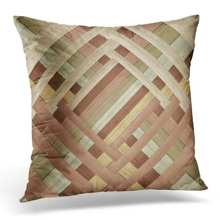 STOAG Tan Original Earth Tone Abstract Weave Designer Style Brown Popular Throw Pillowcase Cushion Case Cover 16x16 (Popular Designer)