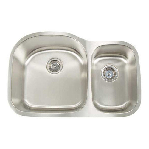 Artisan Sinks Premium Series Big Bowl and Small Bowl Undermount Sink