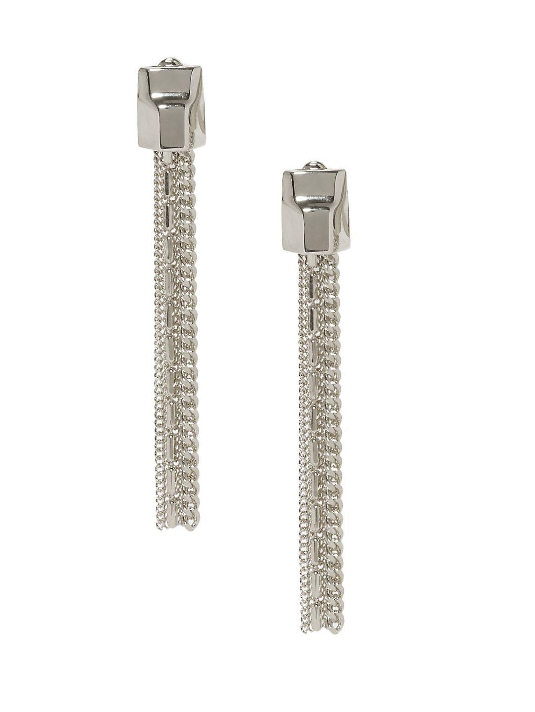 Tassel Linear Drop Earrings