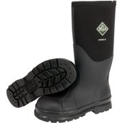 Servus by Honeywell Size 10 Muck Chore Black 16'' Insulated Neoprene And CR Flex-Foam Boots With Vibram Outsole, Steel Toe, And EVA Sock Liner
