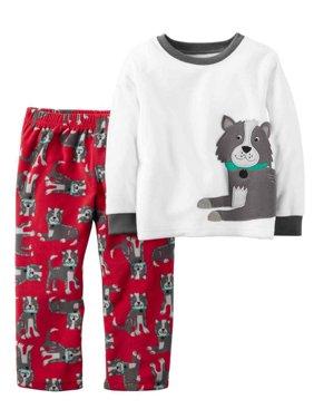 ac23d6a31400 Toddler Boys Pajamas   Robes - Walmart.com