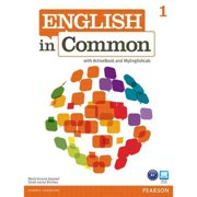 English in Common 1 with ActiveBook and MyLab English