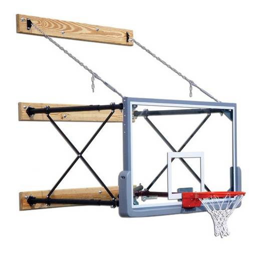 Four Point Wall Mount Adjustable Backboard Mounting (2 3 ft.) by Gared Holdings