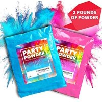Hawwwy Colorful Powder for Gender Reveal Powder Burnout Colored Powder for Color Run, Gender Reveal Smoke Bombs Pinata Ballons Surprise Games Motorcycle Exhaust Car Tires Truck Photography - Pink Blue