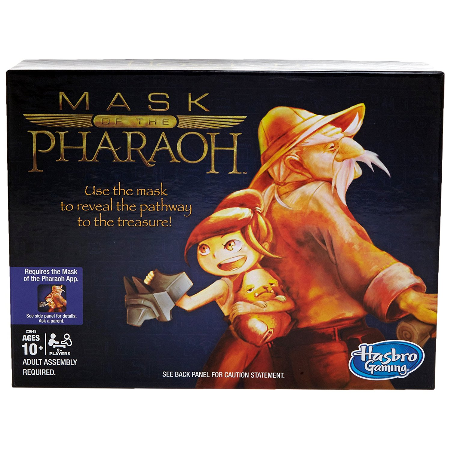 Hasbro Games Mask of the Pharaoh Party Board Game by