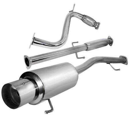 (Spec-D Tuning 1990 1991 1992 1993 Honda Accord Exhaust Catback System 90 91)