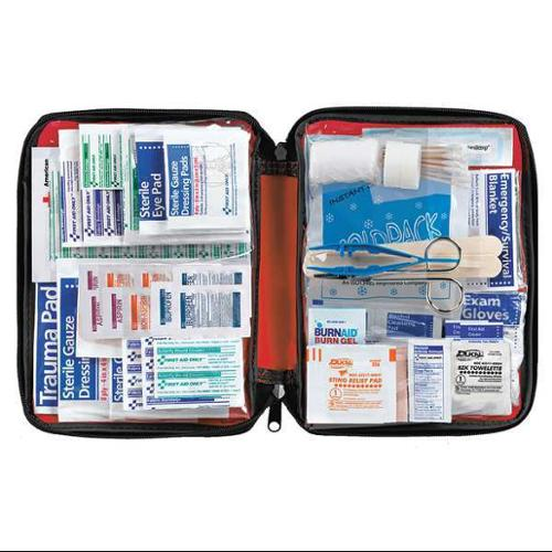 AMERICAN RED CROSS 711442-GR First Aid Kit,Bulk,Red,299 Pcs,25 People