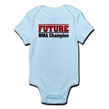 CafePress - Future MMA Champion Infant Bodysuit - Baby Light Bodysuit