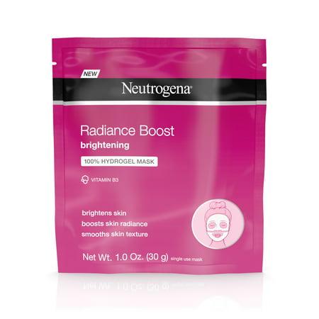 - Neutrogena Radiance Vitamin B3 Brightening Face Mask, 1 oz