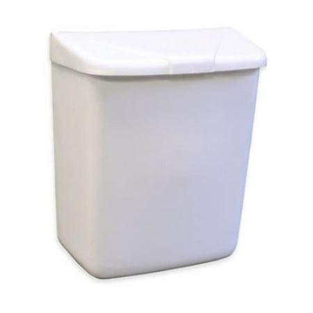 HOS 250-201W Sanitary Napkin Disposal Receptacle