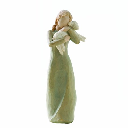 Earth Willow Tree - Willow Tree Figurine, Peace on Earth, Memory Go Ox Soar 5Inch Pc Hanging Light Lordi Hearts Tree Goat Themed Angel Daughter 19 Box Roberts.., By Demdaco