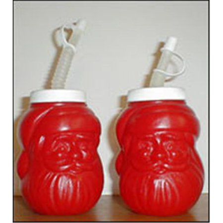 Blinky 4025 - Santa Party Drink Container - Includes Cap -Pack of 12