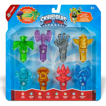 Skylanders Trap Team 8 pack Trap #1 (Universal) (Light Dark Trap Team)