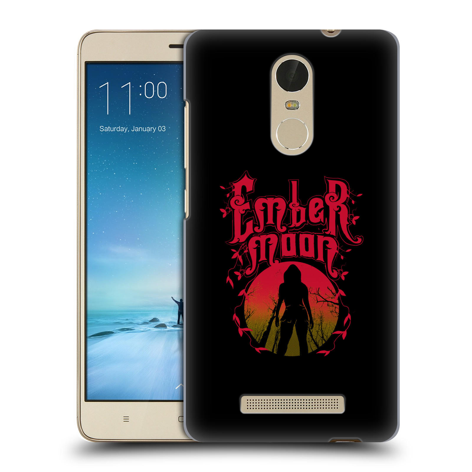 OFFICIAL WWE EMBER MOON HARD BACK CASE FOR XIAOMI PHONES