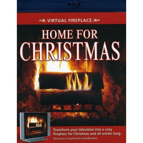 Virtual Fireplace: Home For Christmas (Blu-ray)