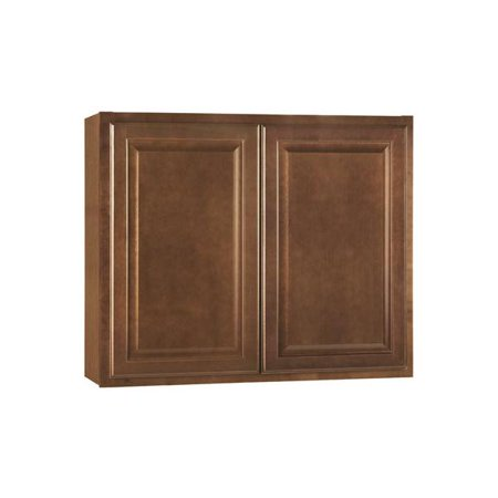 rsi home products hamilton kitchen wall cabinet fully assembled raised panel cafe - Hamilton Kitchen