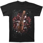 Novelty Men's  Ukulele T-shirt Black