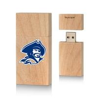 Blinn College 8gb Wood Block USB Drive