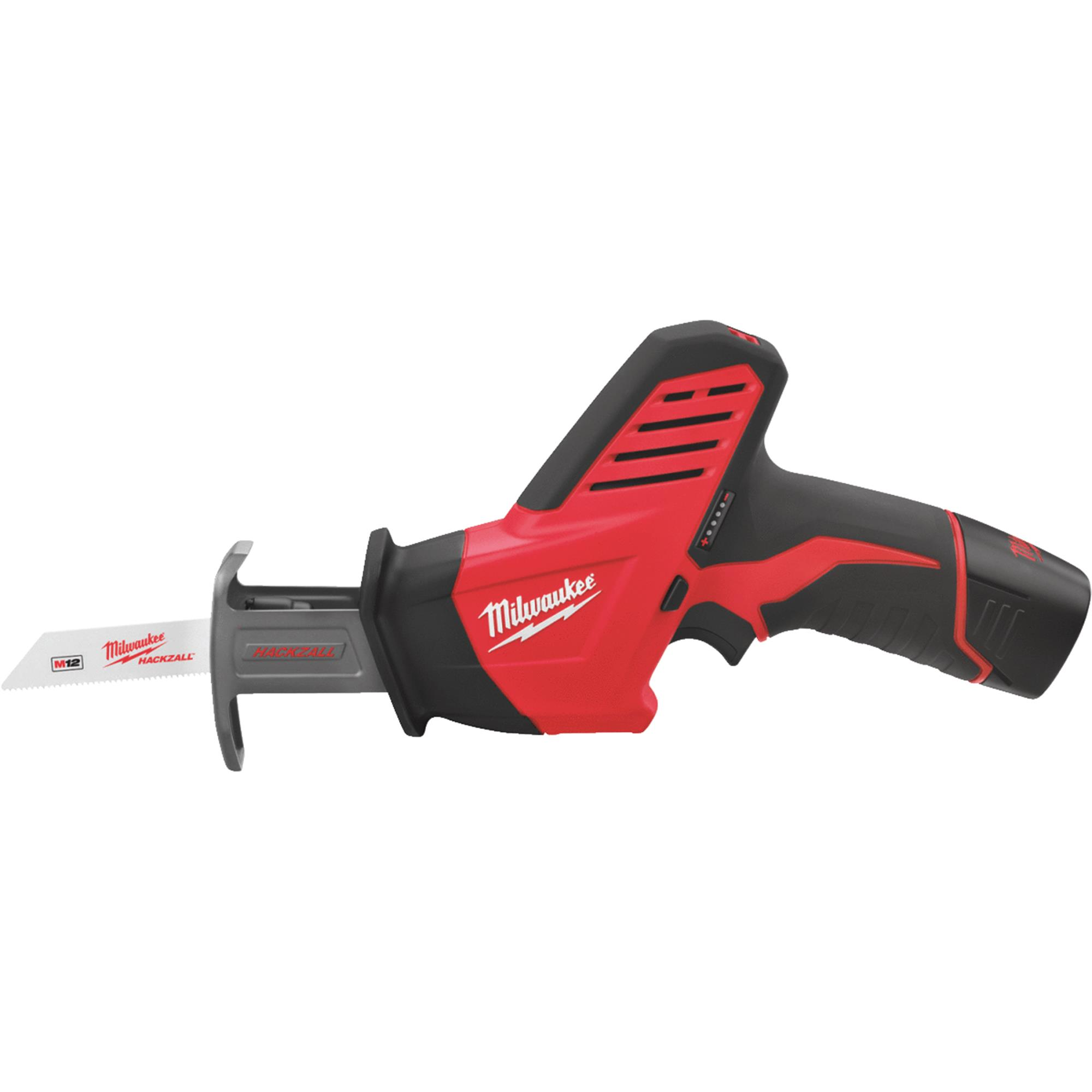 Milwaukee Hackzall M12 Lithium-Ion Cordless Reciprocating Saw Kit
