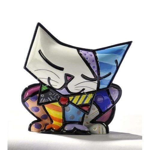 Romero Britto Mini Sugar Cat Figurine